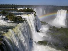 Iguazu Falls, Brazil - nothing but waterfalls and rainbows