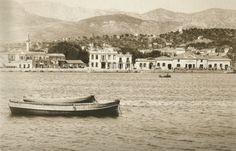Harbor of Chios island north Aegean sea Chios, Places To Visit, Greek, Memories, Sea, Island, Building, Memoirs, Souvenirs