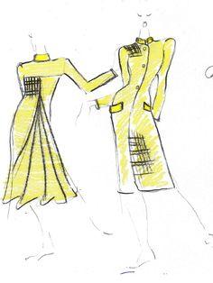 Tartan jacket, long via the Social Tailor! Summer Jacket, Tartan, Aurora Sleeping Beauty, Sketches, Spring Summer, Disney Characters, Creative, Jackets, Drawings