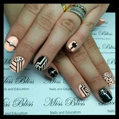 Gel Nails by Miss Bliss Nails and Education Christchurch Nails Inspiration, Gel Nails, Bliss, Education, Beauty, Gel Nail, Onderwijs, Beauty Illustration, Learning