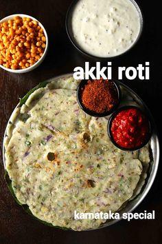 Roti Recipe, Bhaji Recipe, Veg Recipes, Spicy Recipes, Cooking Recipes, Healthy Recipes, Dinner Recipes, Akki Roti, Vegetarian Cooking