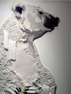Thread and Thrift - karen nicol - amazing embroidery works!!