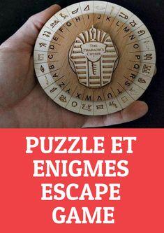 Puzzle et énigmes pour créer un Escape Game !