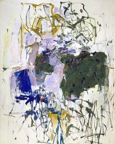 """Up now at """"Joan Mitchell: Drawing into Painting"""" @cheimread : """"Untitled"""", 1963. Oil on canvas, 108 1/8 x 79 1/2 inches (274.6 x 201.9 cm). Collection of the Joan Mitchell Foundation, New York. © Estate of Joan Mitchell. #joanmitchell #abstractpainting #abstractexpressionism #joanmitchellfoundation #art #painting #abex #abstract #artist #cheimread"""