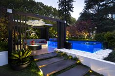 Nice garden with pool