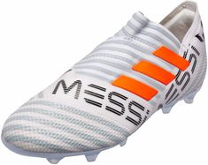huge discount 707e6 5750f adidas Kids Nemeziz Messi 17 360Agility FG – WhiteSolar Orange