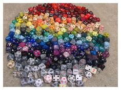 Dice Collection by No-Teeth-Required.deviantart.com