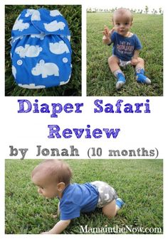 Diaper Safari Review and Giveaway (ends 1/6/15).  Check out these adorable prints and revamped style - thorough review!