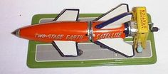 Vintage LineMar Two Stage Satellite Tin Toy
