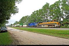 RailPictures.Net Photo: FEC 103 Florida East Coast Railroad (FEC) EMD SD70M-2 at Bunnell, Florida by Bob Pickering (BP)