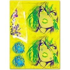 Trademark Fine Art Crime in Yellow Canvas Art by Miguel Paredes, Size: 18 x 24