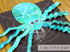 A day in first grade: A week of spiders {How do you fit it all in?}