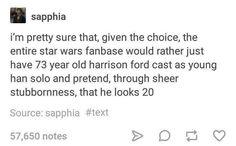 True : StarWars