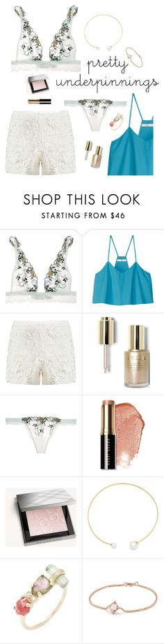 """Pretty Little Things"" by maggiesinthemoon on Polyvore featuring La Perla, TIBI, Tory Burch, Stila, Bobbi Brown Cosmetics, Burberry, Fallon, Jacquie Aiche and David Yurman"