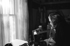 """Adele during the shoot for """"Hello""""'s music video."""