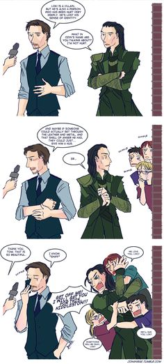 Let's hug Loki by ~johanirae on deviantART... If no one is hugging the real dude I will take him gladly :)