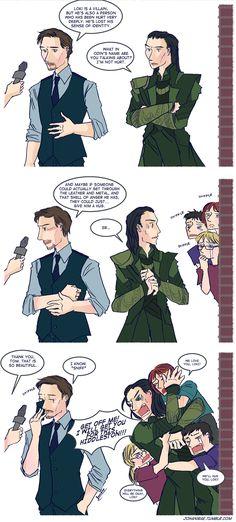 Let's hug Loki by ~johanirae on deviantART