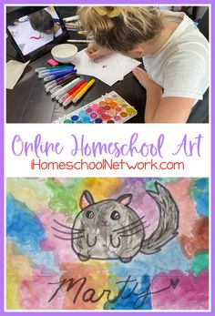 Online Homeschool Art Curriculum with Atelier Homeschool Art by Arts Attack - iHomeschool Network Secular Homeschool Curriculum, Art Curriculum, Homeschooling, Elements And Principles, Elements Of Art, Help Teaching, Teaching Art, Fine Art Drawing, Learning Objectives