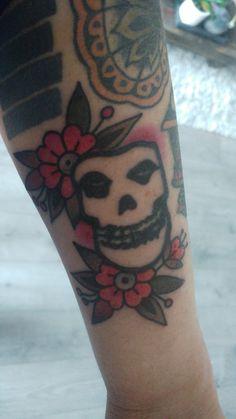 Misfits tattoo old school by moira ramone