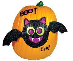 Bat Pumpkin Decorating Kit, 804454