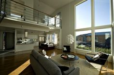 So my style: lofts House Rooms, Ideal Home, Desk, Tila, Mansions, Living Room, House Styles, Interior, Outdoor Decor