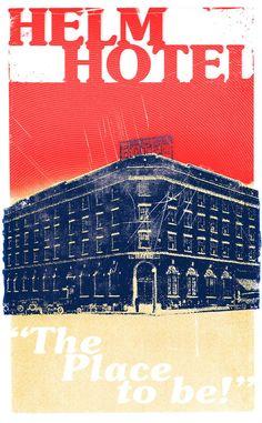 Helm Hotel - Archetype Poster 2 by https://thedigitalrob.deviantart.com on @DeviantArt