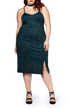 Free shipping and returns on mblm by Tess Holiday Two-Piece Mesh Top & Ponte Dress (Plus Size) at Nordstrom.com. Any way you wear it, this two-piece look comes out scorching. Layer the mesh top underneath the strappy print dress for alluring veiled drama or wear the dress on its own for skin-flaunting seduction.