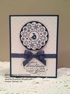 "Tammy Downey's Blog ""Love To Create"": Four Seasons - Christmas Card - Midnight Muse"