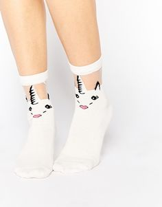 Buy ASOS Unicorn Sheer Panel Socks at ASOS. With free delivery and return options (Ts&Cs apply), online shopping has never been so easy. Get the latest trends with ASOS now. Asos, Sheer Socks, Unicorns And Mermaids, Sock Shop, Bowling Shirts, Unicorn Gifts, Unicorn Party, Cool Socks, Street Style Looks