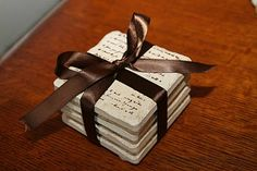 Great gift idea from my bloggy friend, Patty @ Reasons for Chocolate