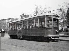 Capital Transit Streetcar westbound on Pennsylvania Avenue near 6th Street NW (Destination Cabin John) (Charles Pineda, Sr.).