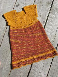 Lovely knitting pattern from La Petite Krott Creations