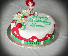 Strawberry Shortcake Cake Strawberry Shortcake Birthday, Celebration Cakes, Special Occasion, Birthday Cake, Desserts, Food, Strawberry Fruit, Pies, Shower Cakes