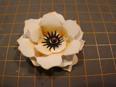 Scraps: Blomster tutorial