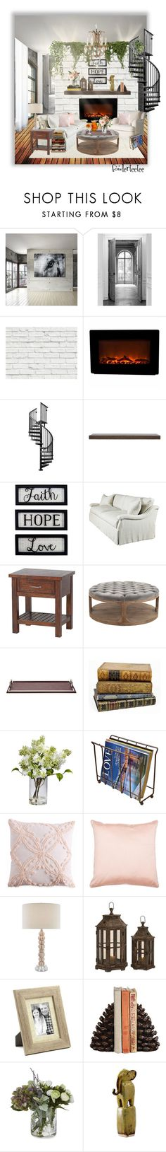 """Hopeless Romantic"" by fowlerteetee ❤ liked on Polyvore featuring interior, interiors, interior design, home, home decor, interior decorating, Ready2hangart, Maison Margiela, Brewster Home Fashions and Eureka"