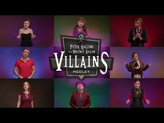 Epic Disney Villain Medley-Peter Hollens feat. Whitney Avalon