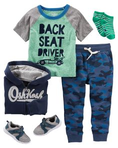 Baby Boy OKF17JULBABY12   Carters.com Cute Boy Outfits, Toddler Boy  Outfits, Toddler 0ccaaeda99a3
