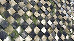 ArtStation - Mossy checkerboard floor, Ben Keeling