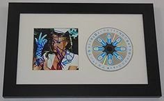 Blink 182 Enema of the State Group Signed Autographed Music Cd Cover Compact Disc Custom Framed Loa