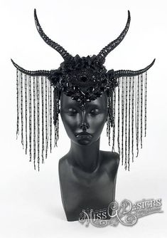 Black Horn Headdress