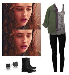 Hannah Baker - 13 reasons why / 13rw by shadyannon on Polyvore featuring polyvore fashion style American Apparel Madewell Cheap Monday Steve Madden clothing