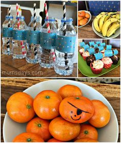 Reuben's Pirate Party - click for games and decoration ideas!