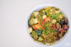 Mediterranean Pesto Bowl | Sincerely Nourished