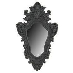 New unique rare design black decorative wall mirror victorian gothic  medieval