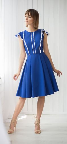 Šaty Belleza, modré