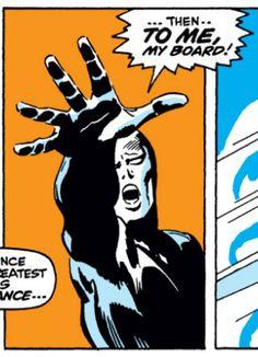 Silver Surfer #14, John Buscema, Silver Surfer, Marvel Comics