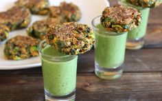 <p>These fat-free patties are a healtier, easy to make tikkis, Indian croquettes, made from spinach broccoli, and chickpea flour.</p>