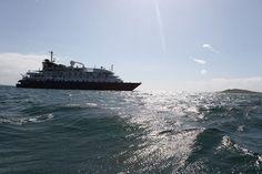 Cruise Ship the MS Island Sky
