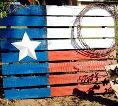 My Texas Flag-pallet
