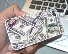money dollar iphone 55s5c iphone 4s4s and samsung  by love4case, $14.34